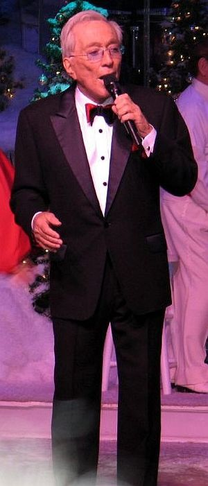 Andy Williams - Williams at the Moon River Theater in Branson, Missouri, 2006
