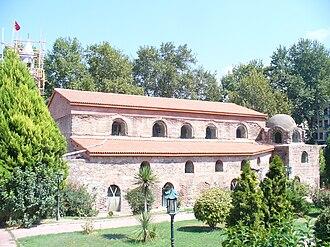 Second Council of Nicaea - Hagia Sophia of Nicaea, where the Council took place; Iznik, Turkey.