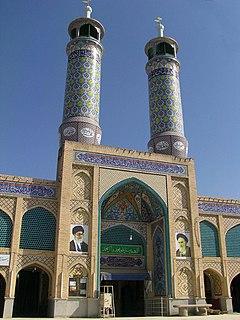 Delijan City in Markazi, Iran