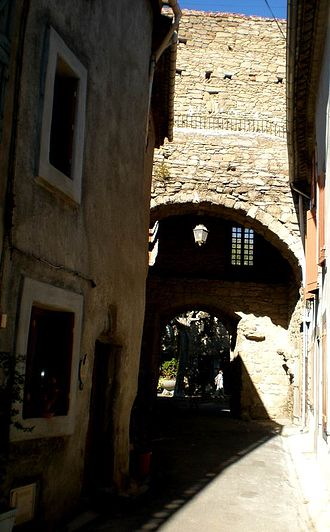 Azille - A door in the City walls
