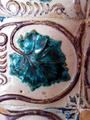 Azulejo feuille de vigne Palais national de Sintra XVe.png