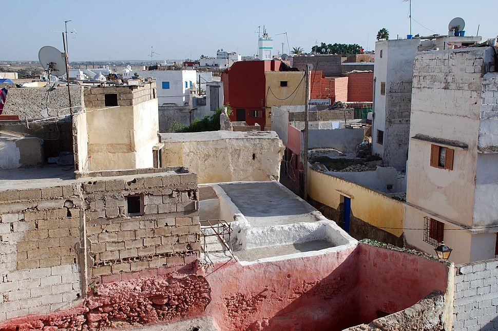Azzemour,oldcityfromwall