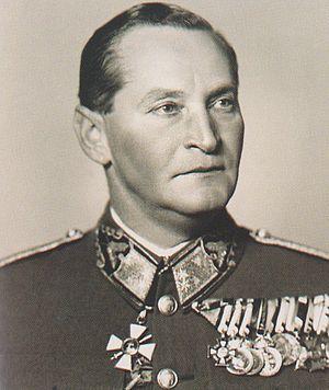Lieutenant field marshal - Altábornagy (FML) Béla Miklós