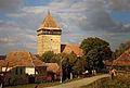 Bărcuț - biserica fortificată (vedere dinspre sudvest).jpg
