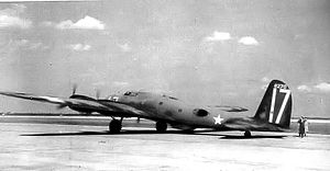 Hendricks Army Airfield -  B-17B Flying Fortress, AAF Ser. No. 38-270, at Hendricks AAF, 1942