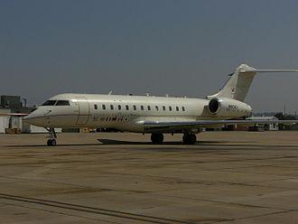 Battlefield Airborne Communications Node - Bombardier Global Express Aircraft Configured as a BACN Aircraft, August 2007