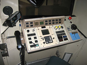 Bay Area Rapid Transit rolling stock - The control panel in a C car