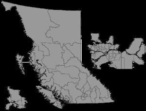 Nanaimo (provincial electoral district) - Image: BC 2015 Nanaimo