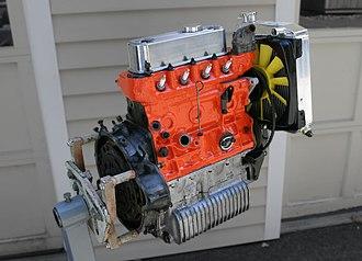 BMC A-series engine - Image: BMC A Series 1275cc engine 1996 Mini S Pi