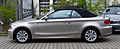 BMW 118i Cabriolet (E88) – Seitenansicht, 15. April 2012, Mettmann.jpg