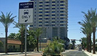 RTC Transit - RTC express BRT line in Las Vegas
