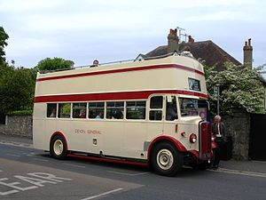 Devon General - An open top bus used in Torbay from 1955 to 1961