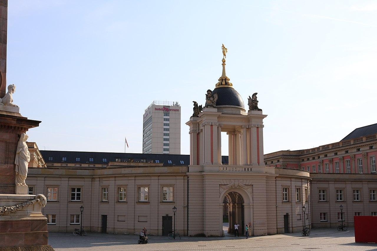 Back entrance to the Landtag Brandenburg.jpg