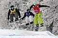 Bad Gastein SBX - Markus Schairer AUT Ludovic Guillot-Diat FRA Rok Rogelj SLO.jpg