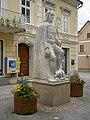 Bad Hall Kirchenplatz Denkmal Tassilo III von Bayern von Hans Schmidinger-4304-2.jpg