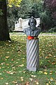 Baden-Baden, the Brahms bust.JPG