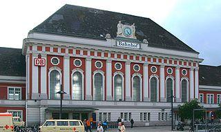 Hamm (Westf) Hauptbahnhof