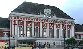German railway station categories - Hamm (Westf) (category 2)