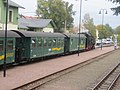 Bahnhof Moritzburg, 99 1761-8 mit Zug (2) Aufenthalt.jpg