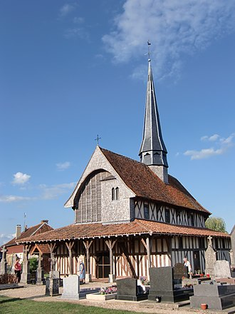 Bailly-le-Franc - The Church of the Exaltation of Saint Croix