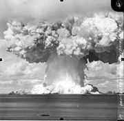 Baker Test atomic explosion during Operation Crossroads 25 July 1946.jpg