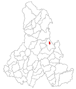 Location of Bălan