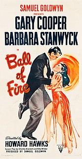 <i>Ball of Fire</i> 1941 film by Howard Hawks