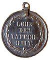 Bamberg Militär-Verdienstmedaille Bamberg Lohn der Tapferkeit RS 1797.jpg