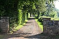 Bampton, entrance to Westbrook Farmhouse - geograph.org.uk - 195140.jpg