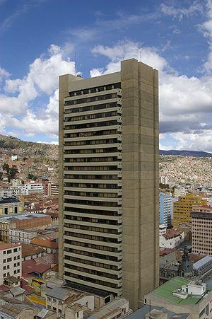 Neo-Tiwanakan architecture - Image: Banco Central de Bolivia, La Paz