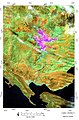 Band comb 542 landsat 7 2010 May 12 Mt Orjen record precipitation year map P.Cikovac.jpg