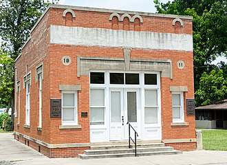 National Register of Historic Places listings in Appling County, Georgia - Image: Bank of Surrency, Surrency, Georgia, US
