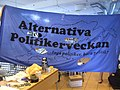 Banner for Alternativa Politikerveckan, 2008.jpg
