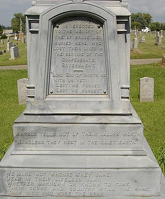Confederate Monument of Bardstown - Confederate Monument of Bardstown