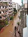 Baridhara DOHS during 2004 flood.JPG
