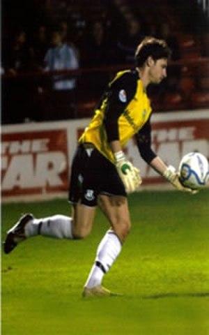 Barry Murphy (footballer, born 1985) - Image: Barry Murphy Shamrock Rovers Goalkeeper