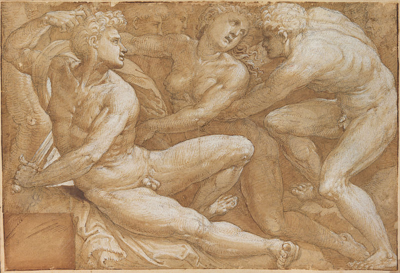 File:Bartolomeo Neroni - Cena mitológica.jpg