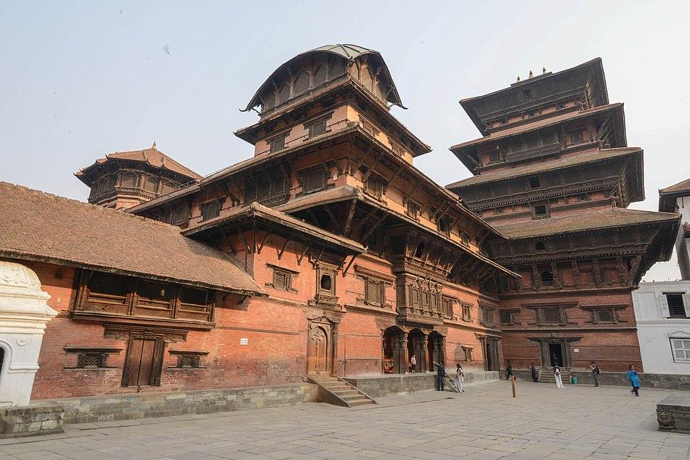 Basantapur Tower Kathmandu Durbar Square Nepal