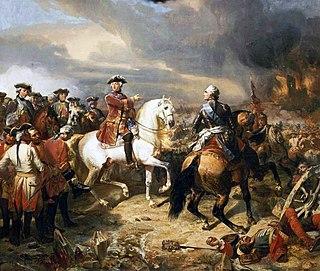 Battle of Lauffeld War of the Austrian Succession, 2 July 1747