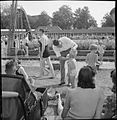 Bathing Pool- Entertainment and Relaxation in the Open Air, Guildford, Surrey, England, 1943 D15969.jpg