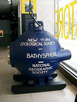 definition of bathysphere