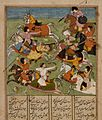 Battle Scene and Text (recto), Text (verso), Folio from a Shahnama (Book of Kings) LACMA AC1993.187.1.jpg