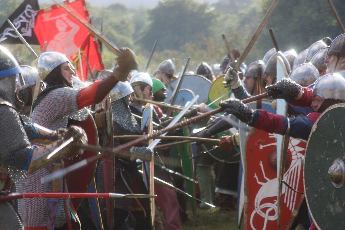 Battle of Hastings reenactment - Wikipedia