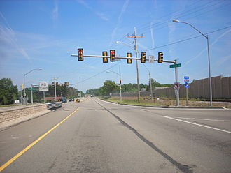 Pennsylvania Route 290 - The Bayfront Connector at 38th Street.