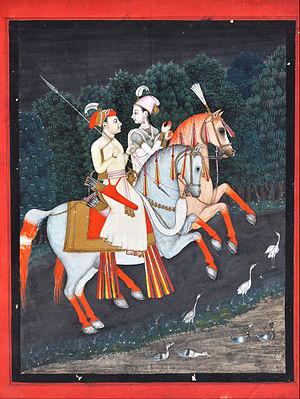 Roopmati - Baz Bahadur and Rani Roopmati