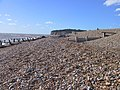 Beach and Groynes, Pett levels - geograph.org.uk - 69677.jpg