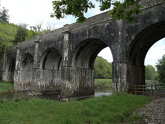 Rolle Canal - Beam Aqueduct viewed from south