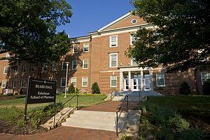 UNC Eshelman School of Pharmacy - Beard Hall, one of the buildings housing the UNC Eshelman School of Pharmacy