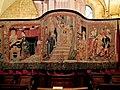 Beaune, Collégiale Notre-Dame, Tapisseries de la Vierge 002.JPG