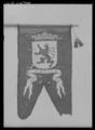 Begravningsbanér, Jülich, fört i Karl X Gustavs begravningståg, 1660 - Livrustkammaren - 27540.tif